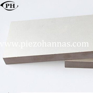 high quality rectangular shape piezo ceramic fabrication for ultrasonic medical treatment