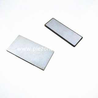 high sensitivity rectangle shape piezo plates for ultrasonic sensor