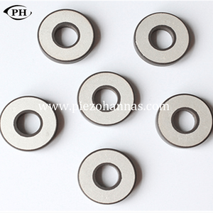 P82-38*16*5mm ring piezo bimorph actuator for ultrasonic detector