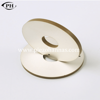 60*30*10mm electrical piezo ceramic ring plate for ultrasonic welding