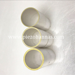 P4 material PZT tube piezoelectric ceramic for ocean project
