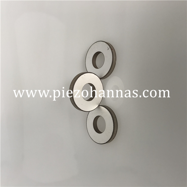 pzt 4 ultrasonic piezoelectric transducer element ceramic ring