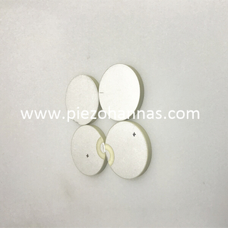 Low Cost PZT-5H Material Pzt Ceramic Powder Piezoelectric Disc for Knock Sensors