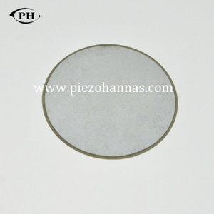 1Mhz piezo disc shape piezo ceramic with P4 materials