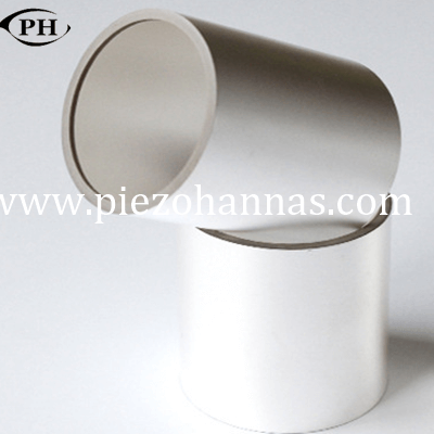 piezo cylinder tube piezo ceramic transducer for underwater acoustic