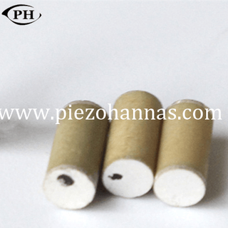 high density cylindrical ceramic piezo element for generating electricity