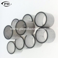 hard PZT materials piezo cylinder tube for underwater acoustics