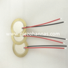 brass material piezo element piezoelectric diaphragm