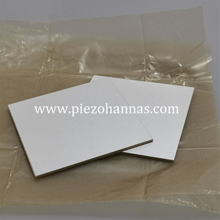 PZT43 Material Piezoelectric Plate Ultrasound Piezoelectric Transducer