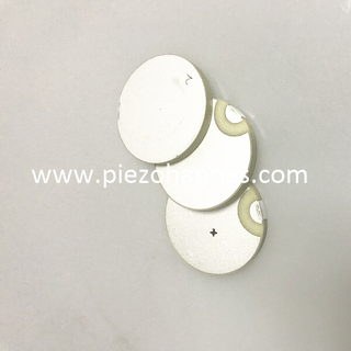 Pzt5a material piezoelectric disc transducer for level sensing