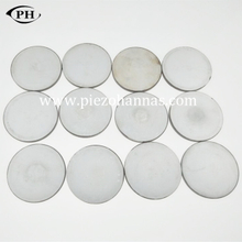 low cost 20mmx 1.25mm piezo disc pickup with P5 material