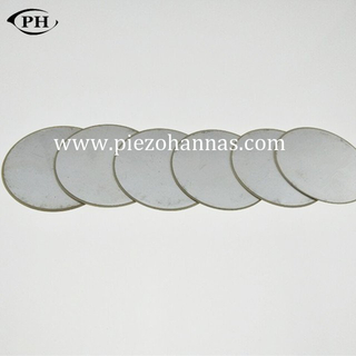 PZT material piezo disc crystal for biomedical probe