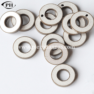 piezoresistive pzt ring shape piezo ceramic element for ultrasonic cleaner