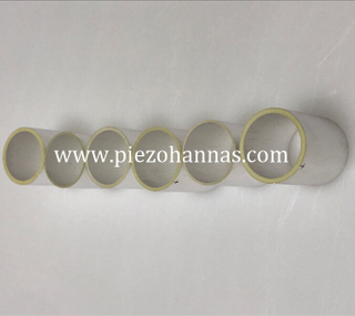 homemade piezoelectric transducer piezo tube for underwater comunications