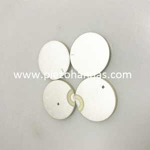 P-81 Material Piezo Electric Ceramic Piezio Ceramic Disc for NDT Application