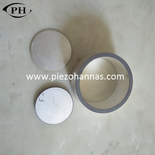 low cost piezoelectric ring crystal for biodiesel mixing transducer