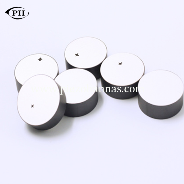 high density piezo discs crystal for ultrasonic cleaner
