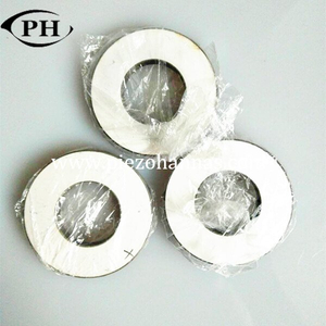 130 KHz piezoelectric ceramic rings for tonpilz transducer