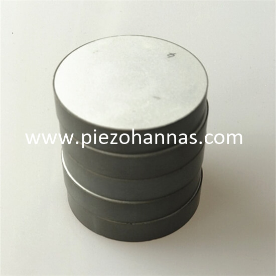 piezoelectric ceramic disc transducer for matter dispersion