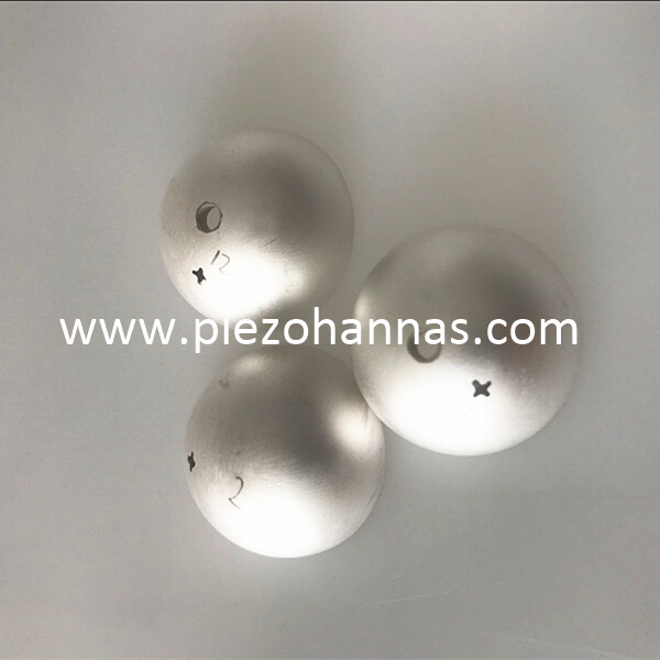 cheap piezo ceramic hemispheres for sonar transducer
