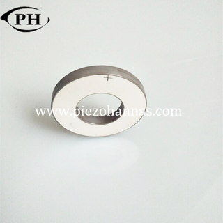 pzt 8 directional ultrasonic polarized piezo ring transducers