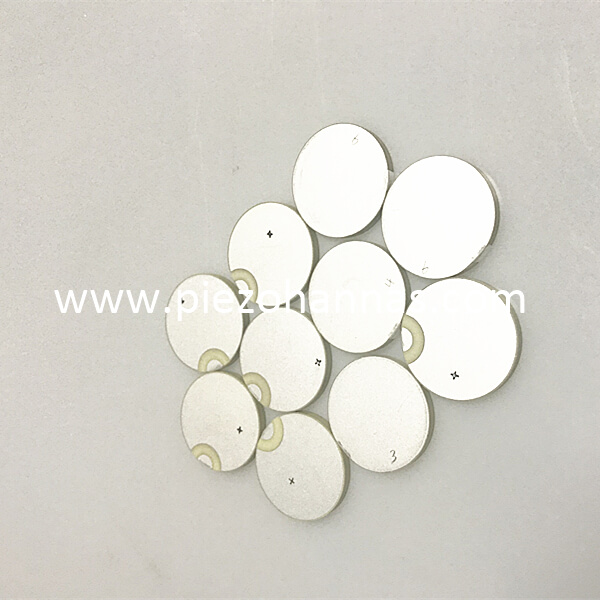 wholesale piezoelectric discs piezoelectric ultrasonic tranducer for flow meters