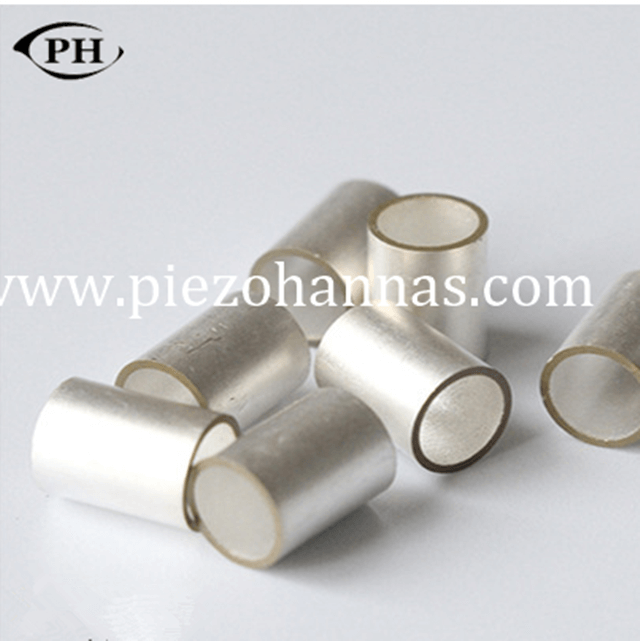 small piezo tubes transducer for accelerometer sensor
