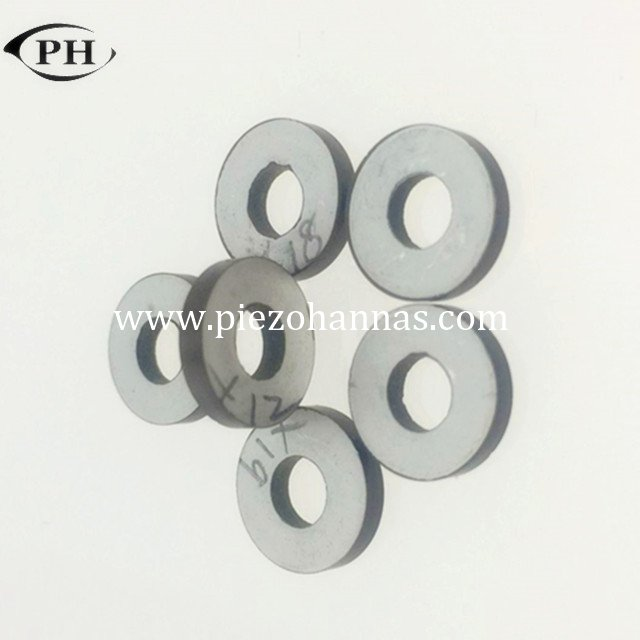 P43-10*5*2mm ring piezo bimorph actuator datasheet