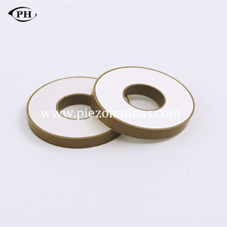 50*20*6mm ring piezo sounder PZT materials for ultrasonic welding