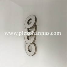 Stock Pzt Piezo Ceramic Ring for Ultrasonic Bath Transducer