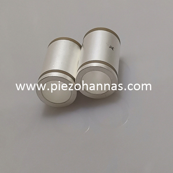 Large Pzt Ceramic Tube Stock Piezo Ceramics Poling