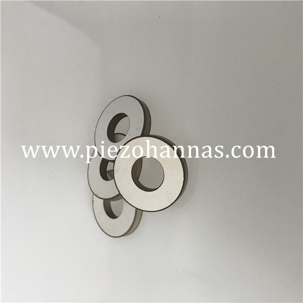 PZT8 Material Piezoceramic Ring for Vibration Transducer