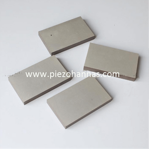 PZT8 High Power Piezo Ceramic Plate Crystals