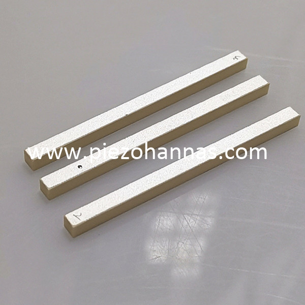 670Khz Piezoelectric Ceramic Strip for Hydrophone