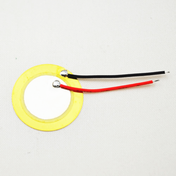 Piezo Diaphragm Piezoelectric Film Sound Transducer with Wires Solder