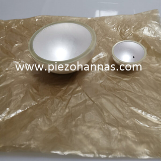 Pzt5 Material Piezo Ceramic Bowls for Echo Sounder Transducers