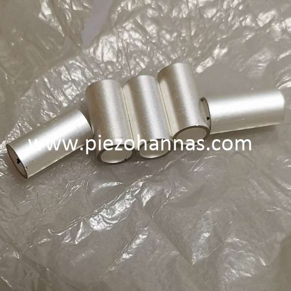 Navy Type Material Piezoelectric Ceramic Cylinder for Hydrophone Transducer