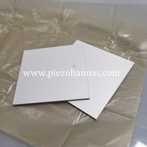 Pzt5a Material Piezoelectric Ceramics Plates for Transducer
