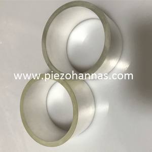 High Sensitivity Cylinder Ceramic Transducer Piezoelectric Crystal for Echo-sounders